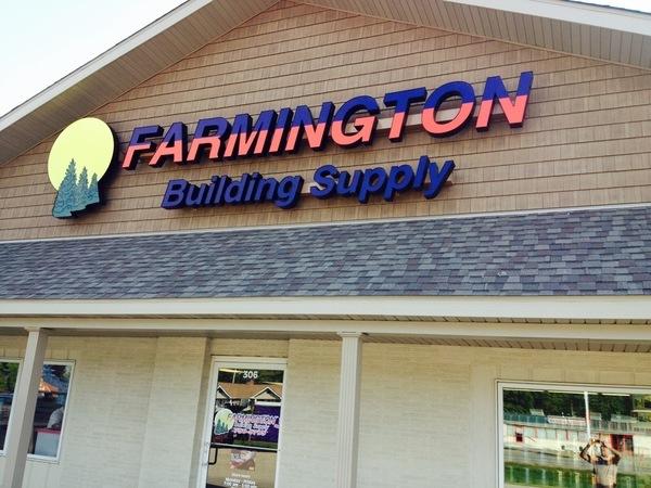 Farmington Building Supply Storefront
