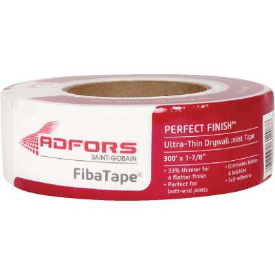 FibaTape Perfect Finish 1-7/8 In. X 300 Ft. Ultra Thin Joint Drywall Tape