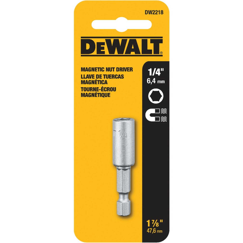 DeWalt 1/4 In. x 1-7/16 In. Magnetic Nutdriver Bit Image 2