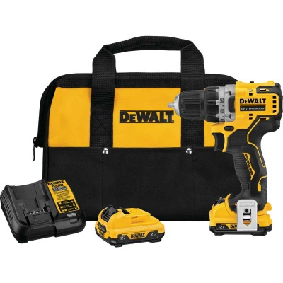 DeWalt XTREME 12 Volt MAX XR Lithium-Ion 3/8 In. Brushless Cordless Drill/Driver Kit