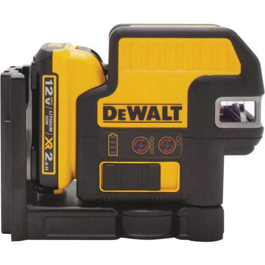 DeWalt 165 Ft. Self-Leveling Cross-Line & Plumb Spot Laser Level