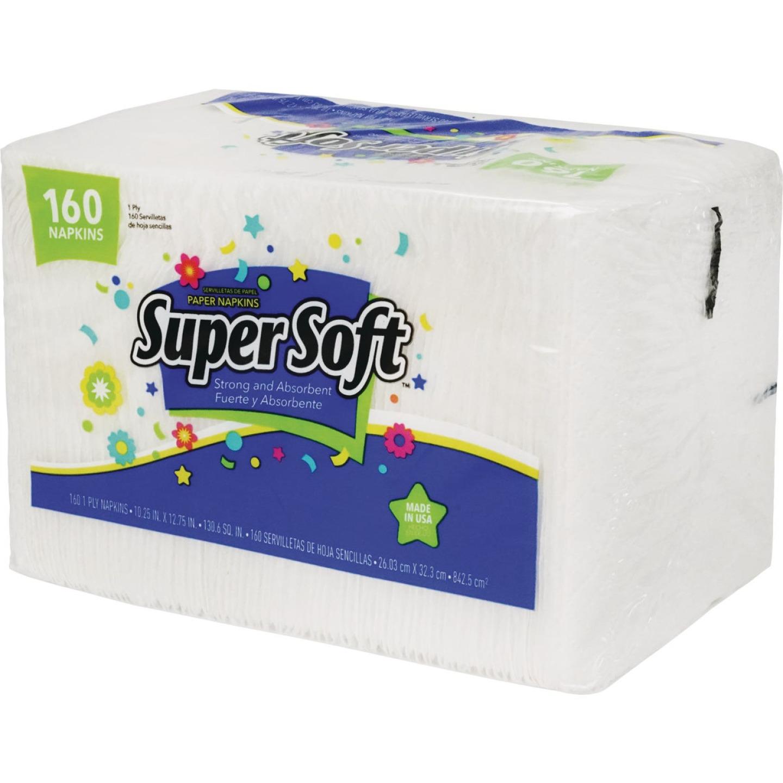Super Soft Paper Napkins (160 Count) Image 1