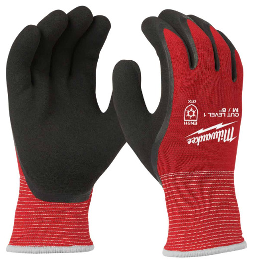 Milwaukee Men's Medium Latex Coated Cut Level 1 Insulated Work Glove