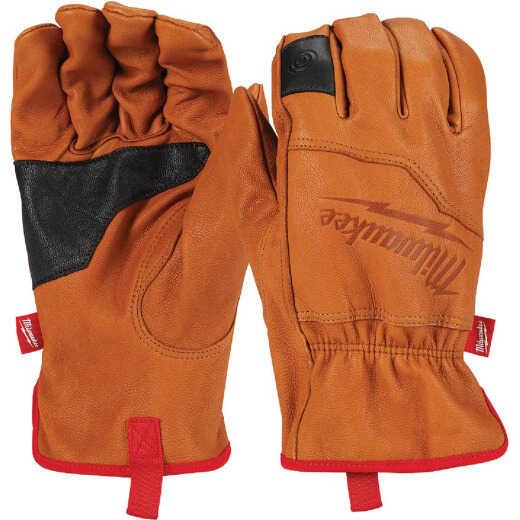 Milwaukee Men's Large Goatskin Leather Work Gloves