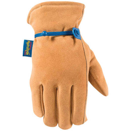 Wells Lamont HydraHyde Men's Large Suede Cowhide Insulated Work Glove