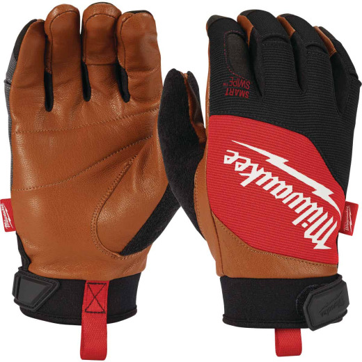 Milwaukee Men's Large Leather Performance Work Glove