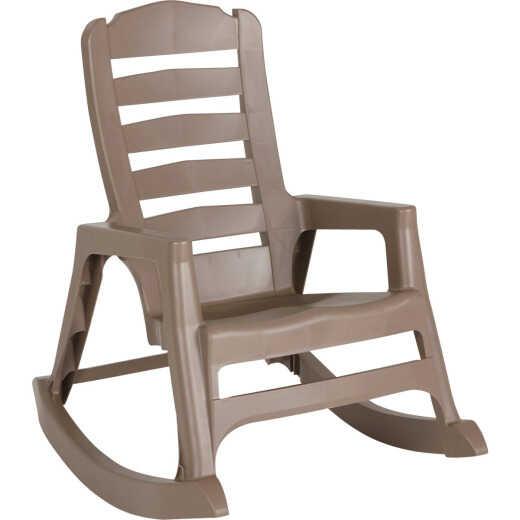 Big Easy Portobello Resin Stackable Rocking Chair