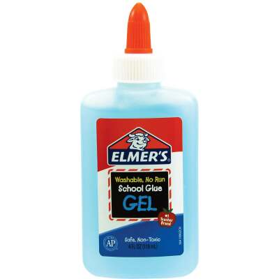 Elmer's 4 Oz. Clear Drying School Glue Gel